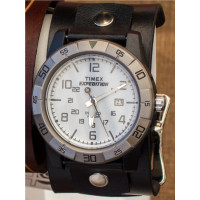 Black Leather Watch Cuff