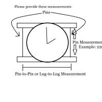 Watch Measurements Needed