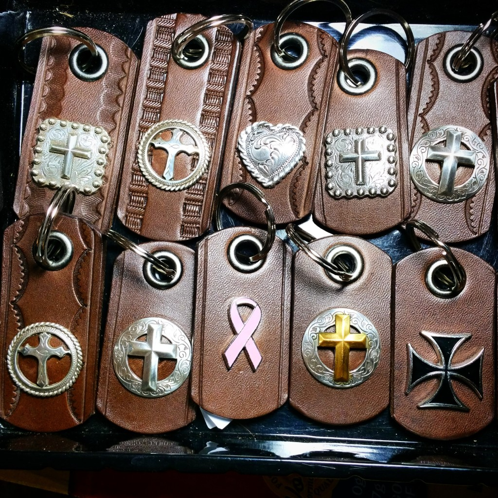 Cross Key Chain Christian