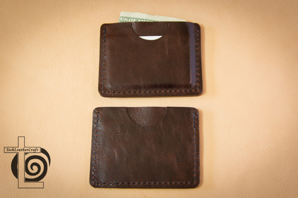 Two Slim Wallets Back Pocket