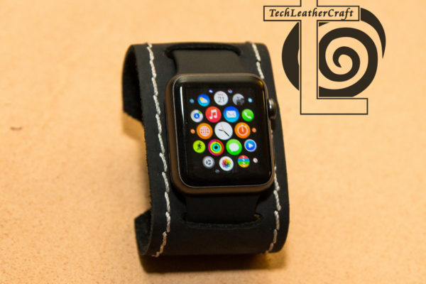 Apple Watch Leather Watch Cuff