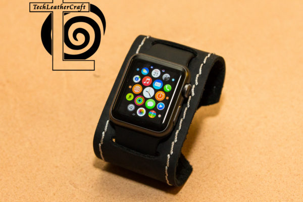 Apple Watch Leather Smart Watch Cuff