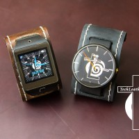 Moto 360 Leather SmartWatch Cuff Band