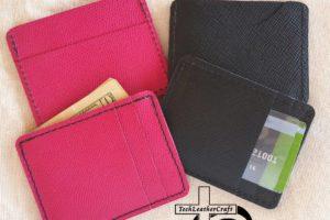 Black Saffiano Wallets Multi-Slim Wallet