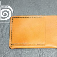 Tan Essex Horween Ultra Slim Wallet