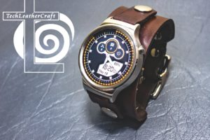 Huawei Watch Leather Cuff Smartwatch