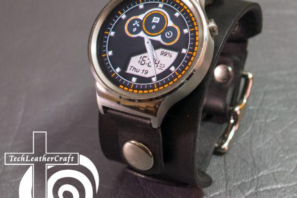 Custom Leather Smartwatch Cuff