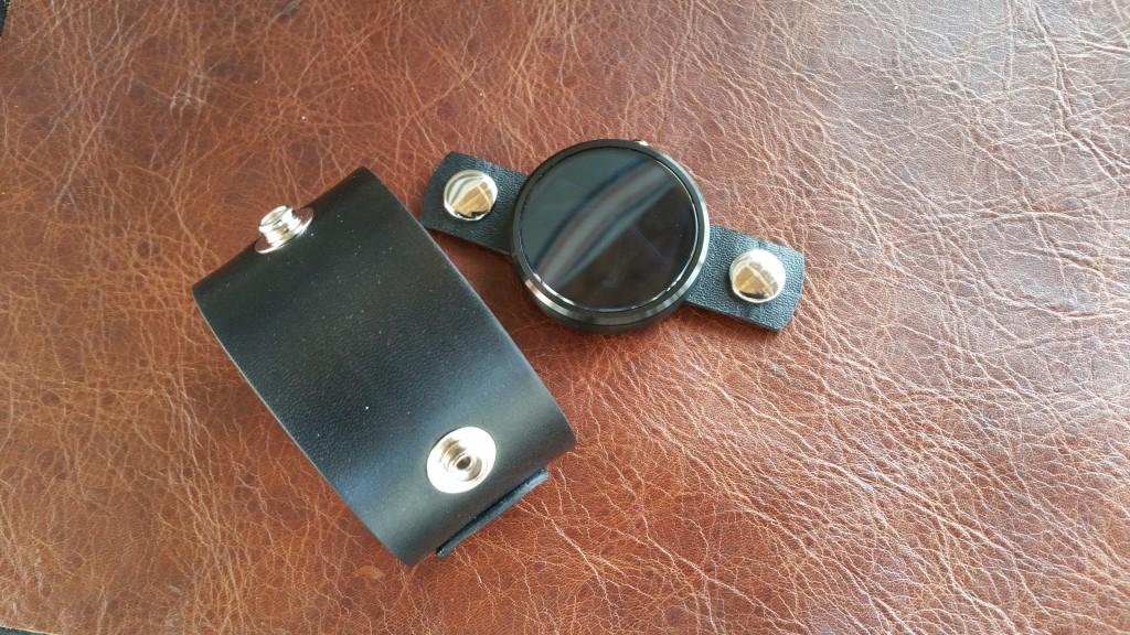 Moto 360 Leather Watch Cuff
