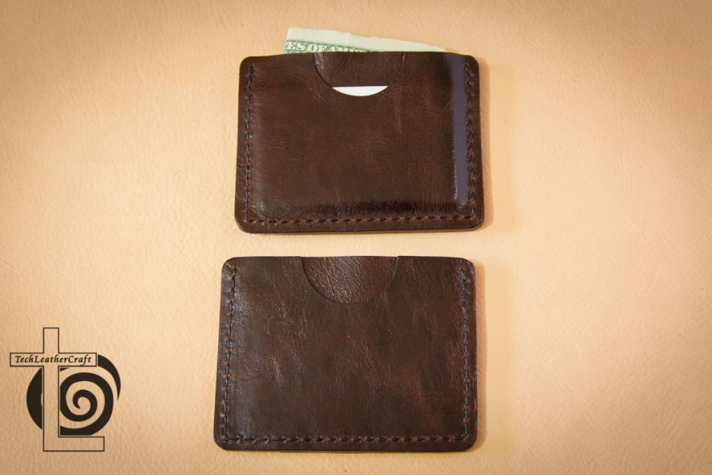 Two Slim Wallets Back Pocket