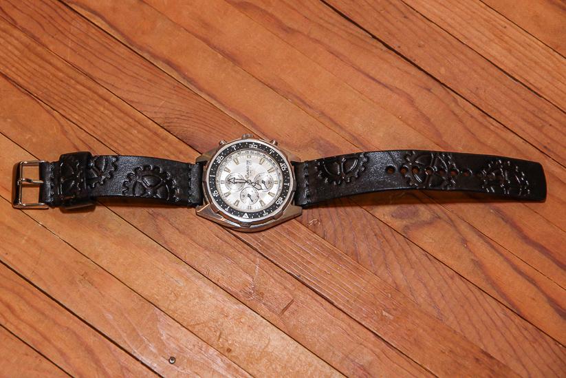 Steampunk Sprocket Watch Band Cuff