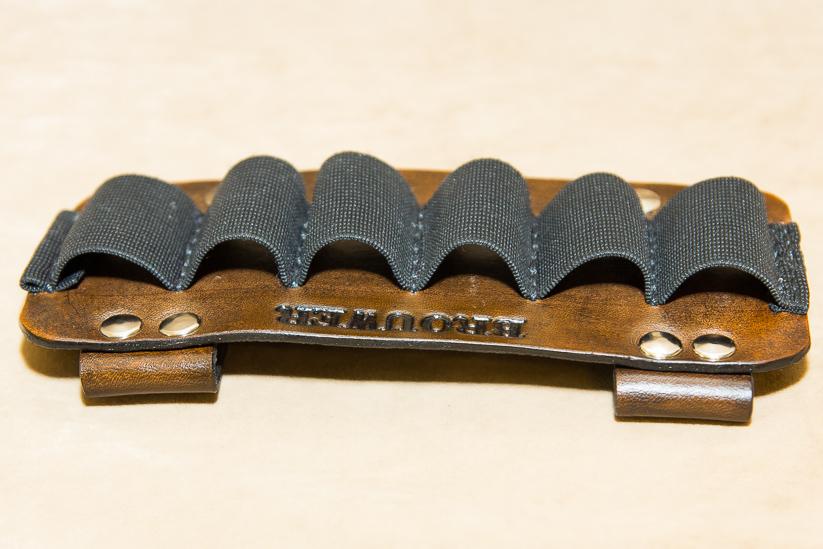 Leather Shotgun Shell Holder Belt