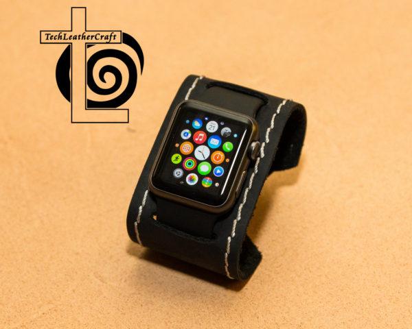 Apple Watch Leather Smart Watch Cuff