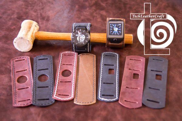 Moto 360 Apple Watch Samsung Gear S2 LG Watch R Urbane Leather Watch Cuff band