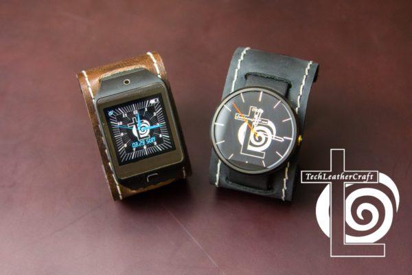 Moto 360 Leather SmartWatch Cuff Band